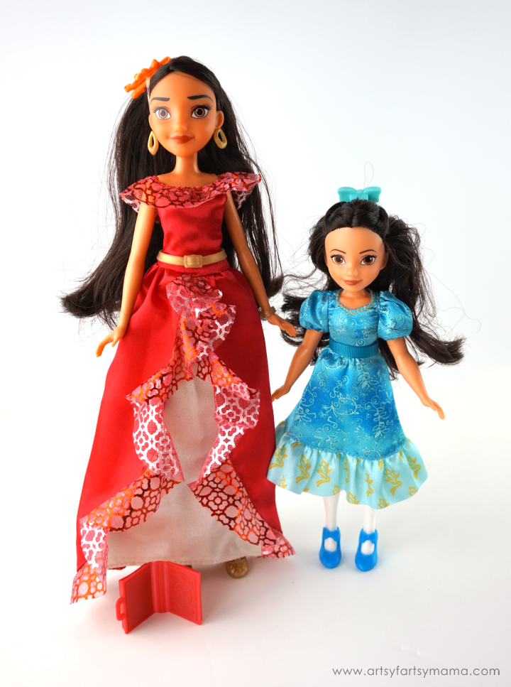 Elena of Avalor doll set at artsyfartsymama.com #PlayLikeHasbro