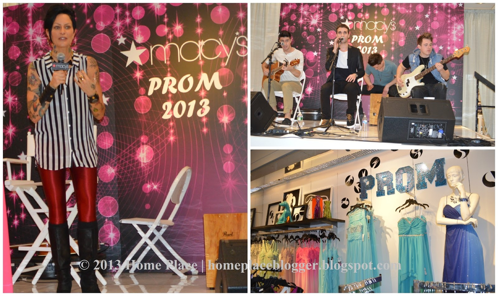 5d60c0768210 Home Place: Macy's Prom Fashion Show - Mandi Line & Action Item ...
