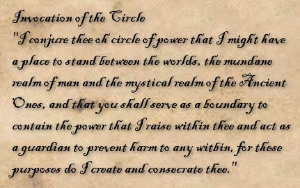 Casting a Circle | The Wiccan Willow
