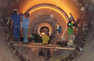 Pekerjaan Pemasangan Fire Brick di Rotary Kiln dengan Tim Ahli & Berpengalaman