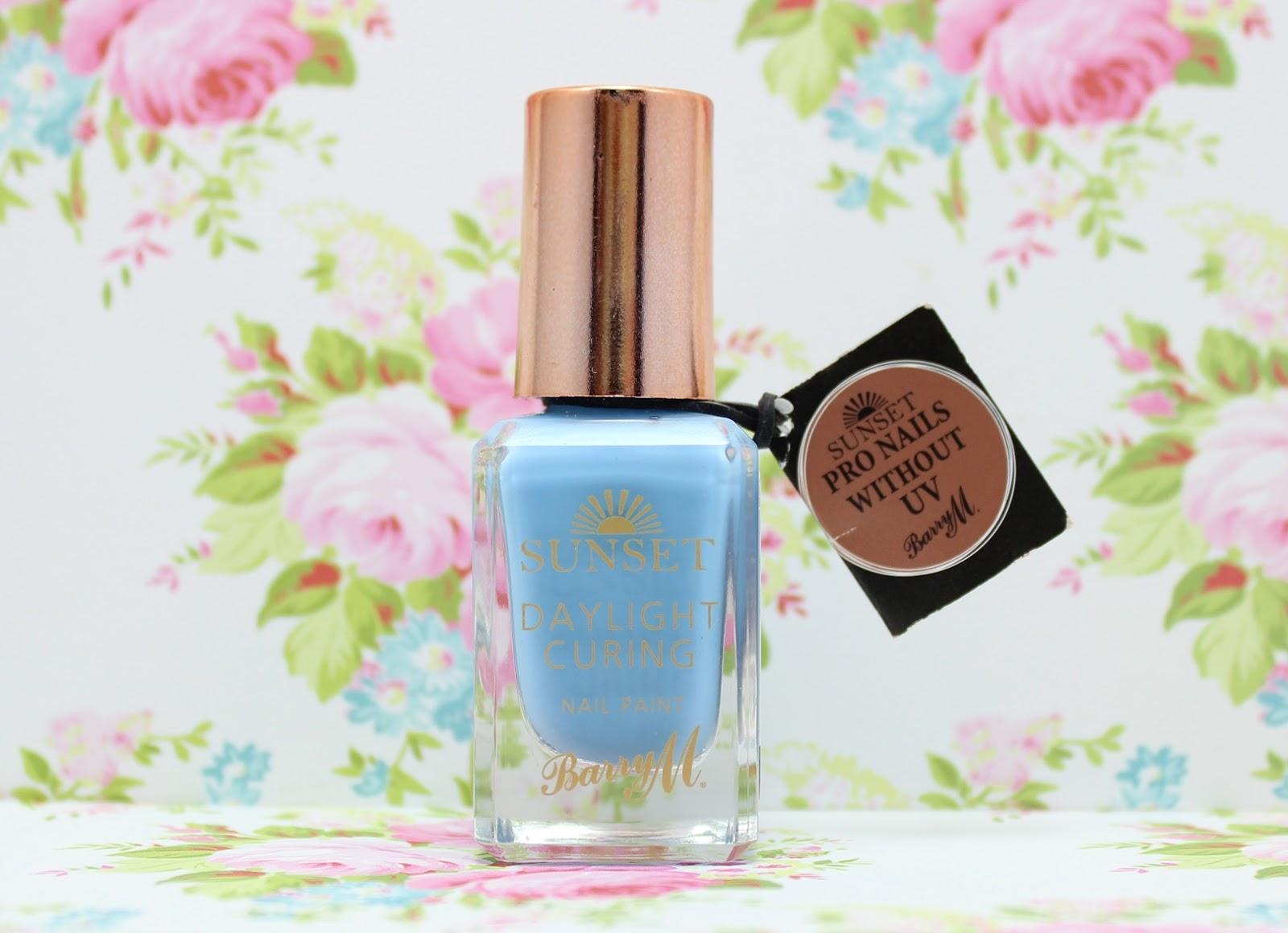 Barry M Nail Paint - Bug a Blue