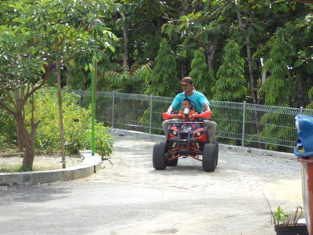 Wahana ATV wisata wego Lamongan