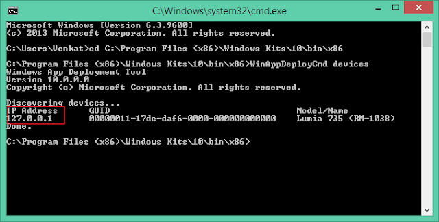how to change directory in cmd from d to c
