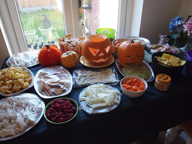 Halloween buffet for kids