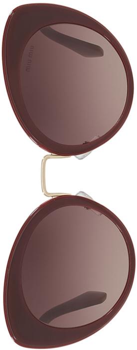 Miu Miu Acetate Cat Eye Sunglasses