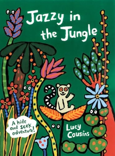 Jazzy in the Jungle, part of book review list of jungle and rainforest books