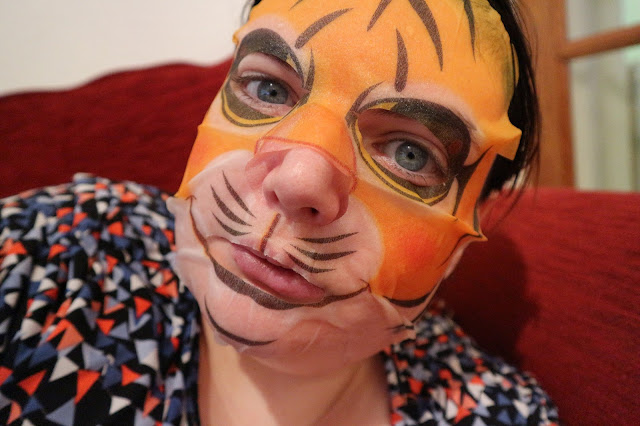 Look Beauty Animalz Tiger Moisturising Sheet Mask