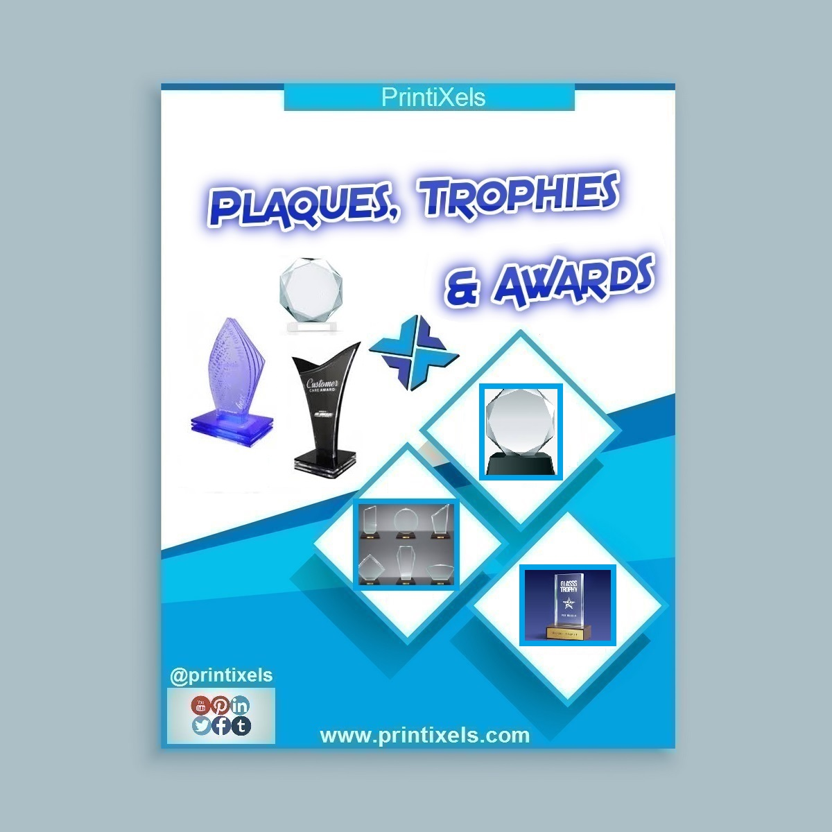 Recognition Plaques, Acrylic Trophies & Corporate Awards