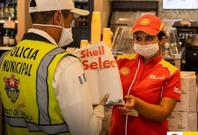Shell dona alimentos