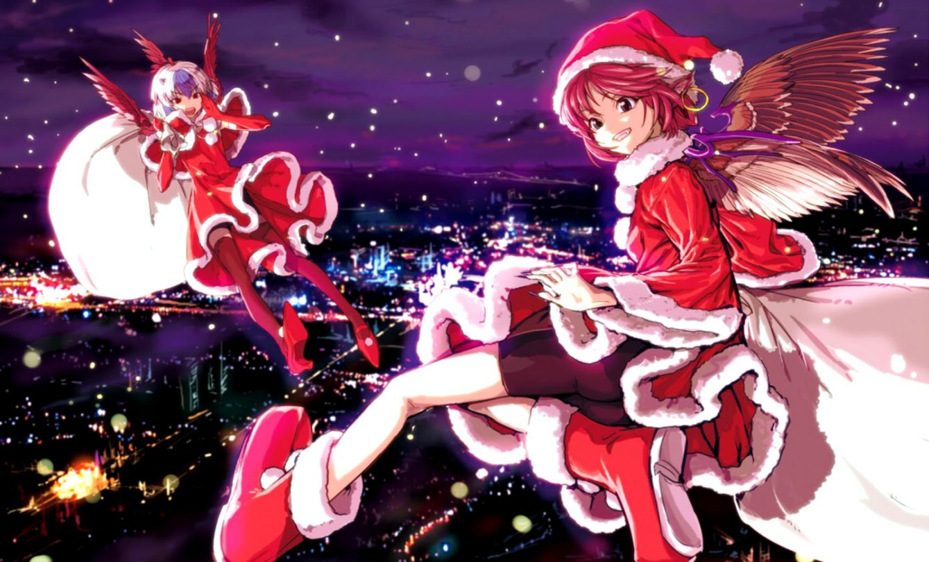 Anime Christmas Girl Wallpaper   All in One Wallpapers