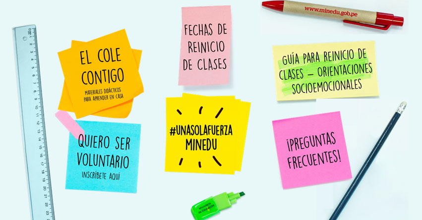 #UnaSolaFuerza: Todo la información que debes saber sobre la suspensión de clases por emergencia - MINEDU - www.minedu.gob.pe