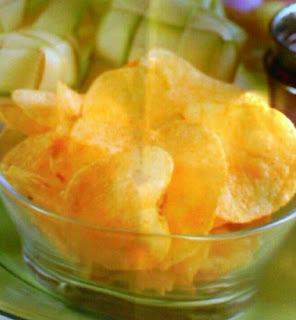 Resep cara membuat keripik kentang yang gurih
