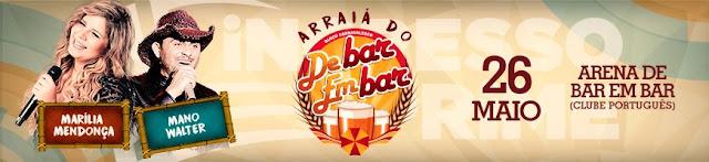 Arraiá de bar em bar antecipa o São João