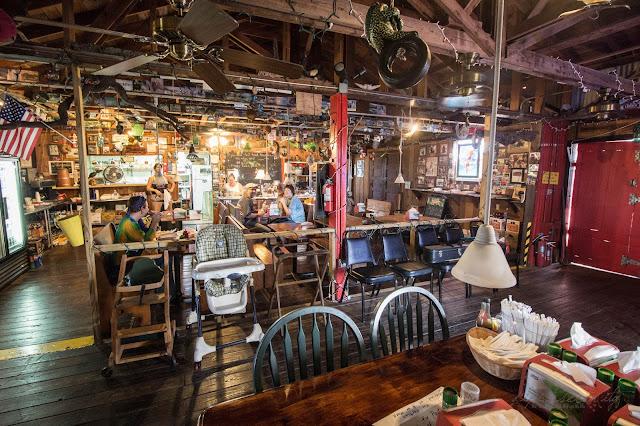 Joanie's Blue Crab Cafe  U. S. HWY. 41 - Ochopee