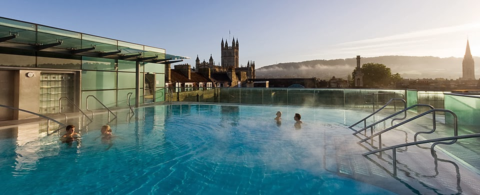 New Royal Bath thermae Spa de Bath