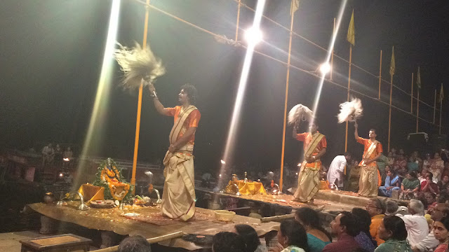 Ganga Arthi Banaras Kashi