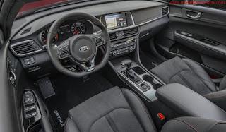 صور سيارة كيا اوبتيما 2016 من الداخل
