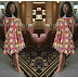 Bisola Slays In Beautiful Ankara Dress!