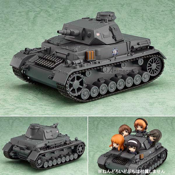 Panzer IV Ausf.D NENDOROID MORE FIGURE Girls und Panzer Good Smile Company