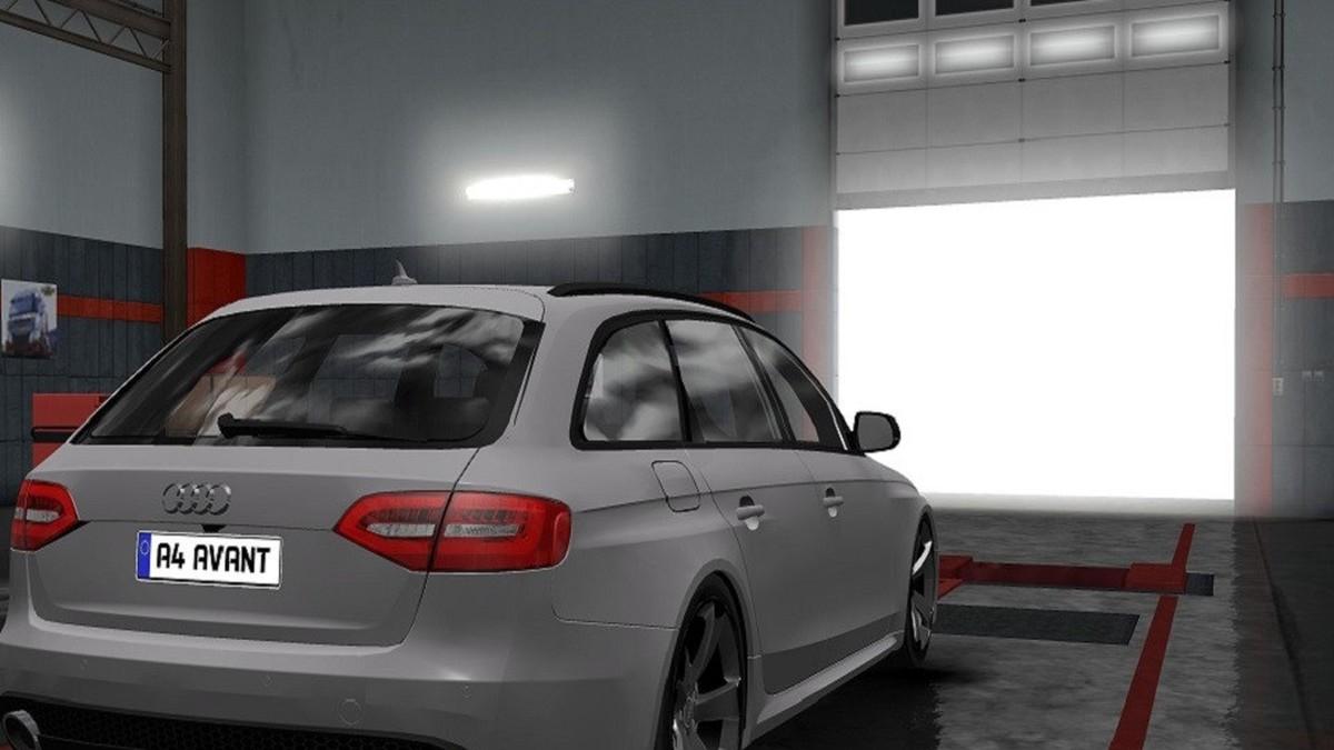 Car Audi A4 Avant 2010