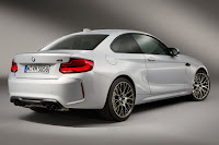 BMW M2 Competition (2018) Rear Side