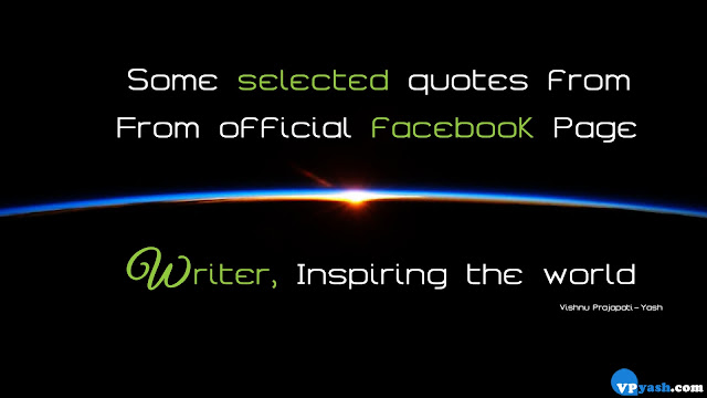 Selected quotes from official facebook page