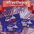 "#FreeTheJoy with Limited Edition Cadbury Dairy Milk Christmas Flavors""."