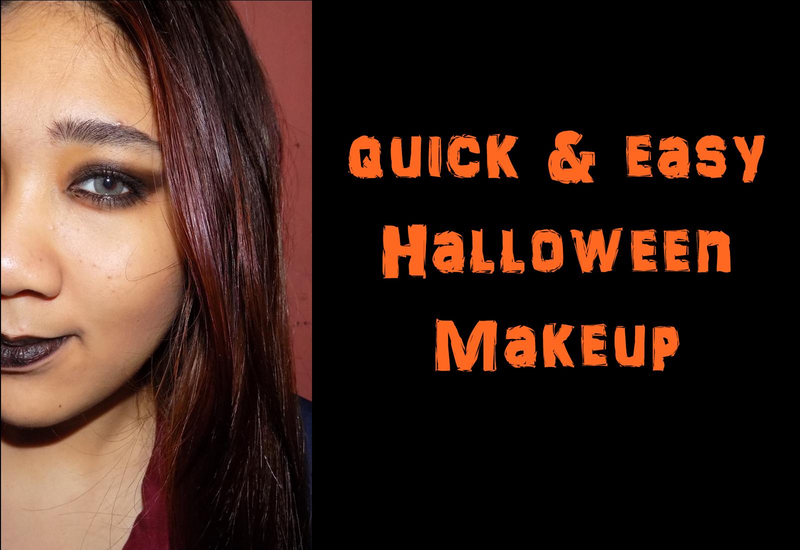 Witch Halloween Makeup Easy.Ey Es Gie By Sharleen Garcia Last Minute Halloween Makeup
