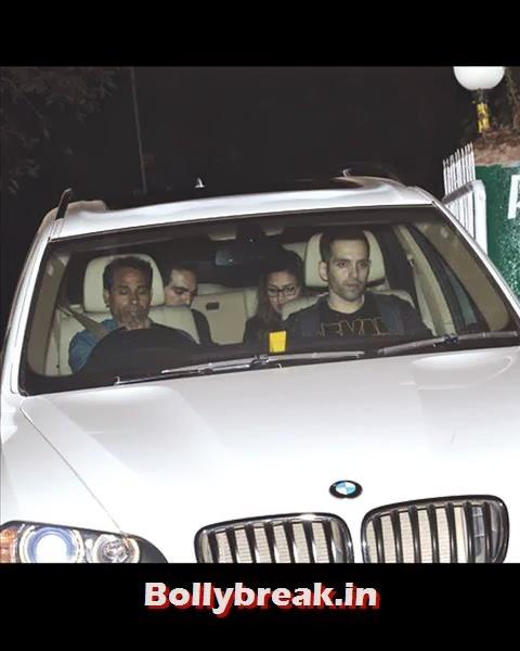 Esha Deol came along with her hubby Bharat Takhtani to Salman birthday bash., Salman Khan Birthday bash Pics