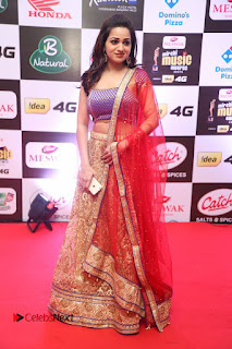 Actress Reshma Rathore Pictures in Lehenga Choli at Mirchi Music Awards South 2015  0020.JPG