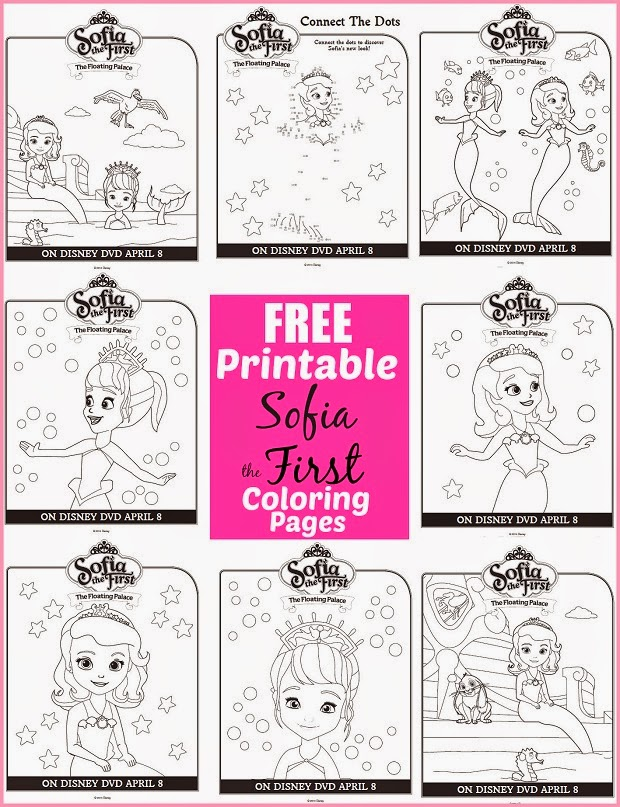 sofia the first printable coloring pages # 10