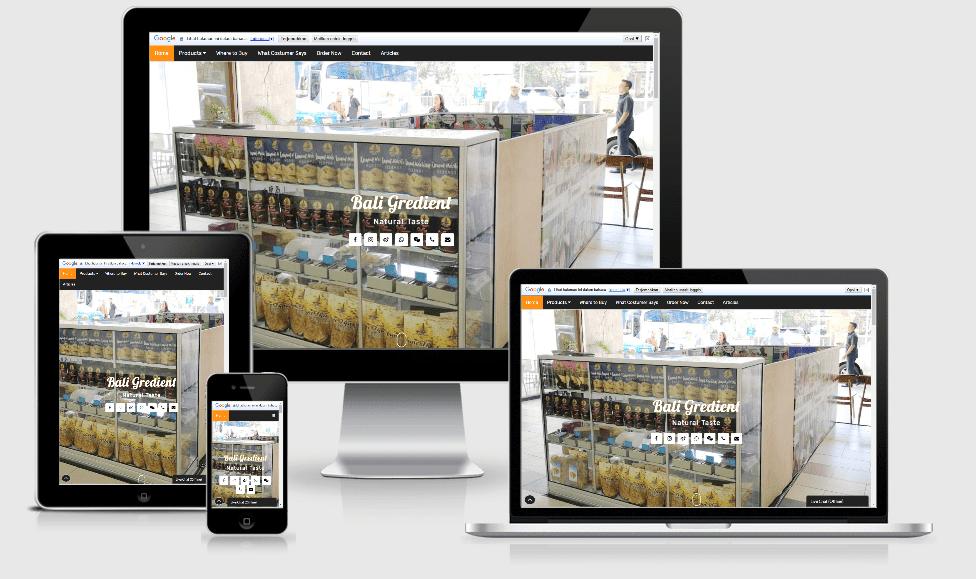 Website BaliGredient.com