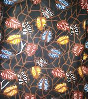 Kain Batik Prima 0520 Hitam