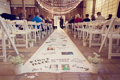 DIY wedding projects on Oh Lovely Day