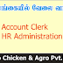 Vacancies In Sri Lanka  Post Of Account Clerk & HR / Administration Clerk