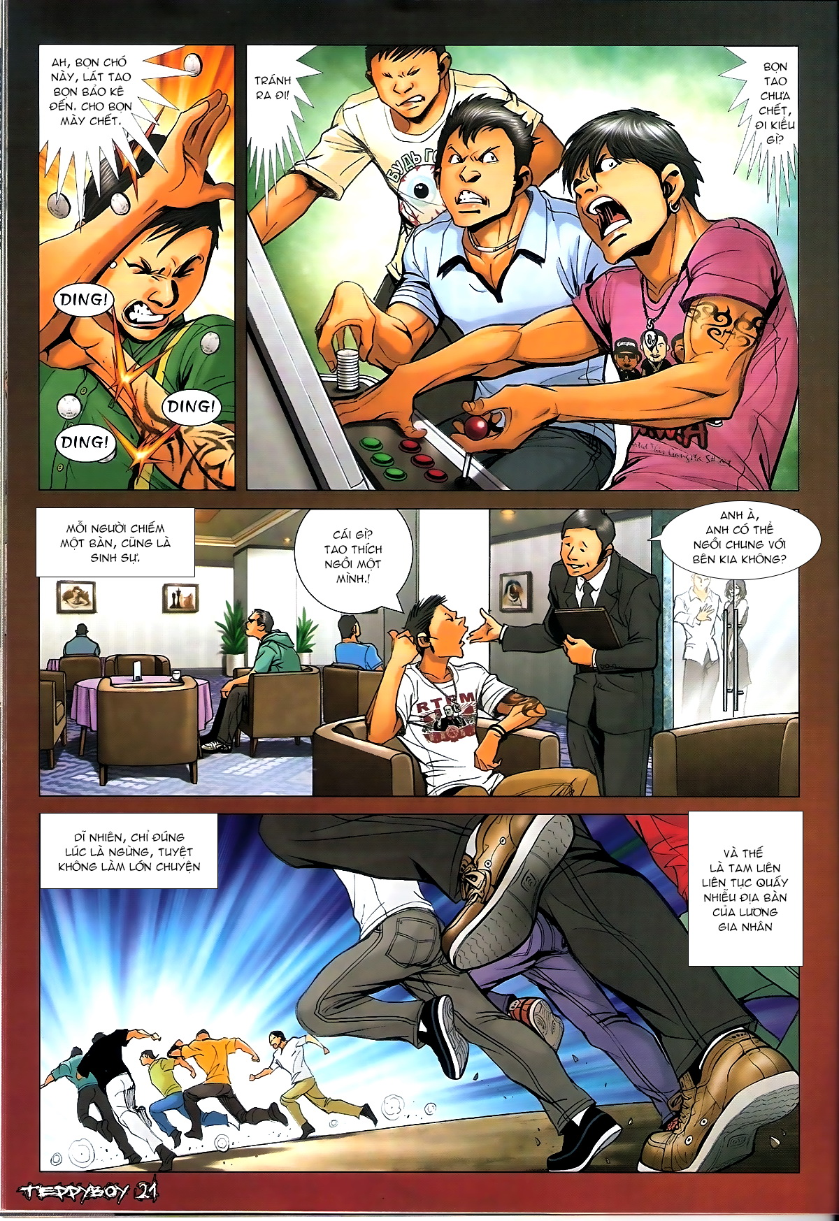 Người Trong Giang Hồ - Chapter 1333: Cao Nhân Tái Hiện - Pic 18