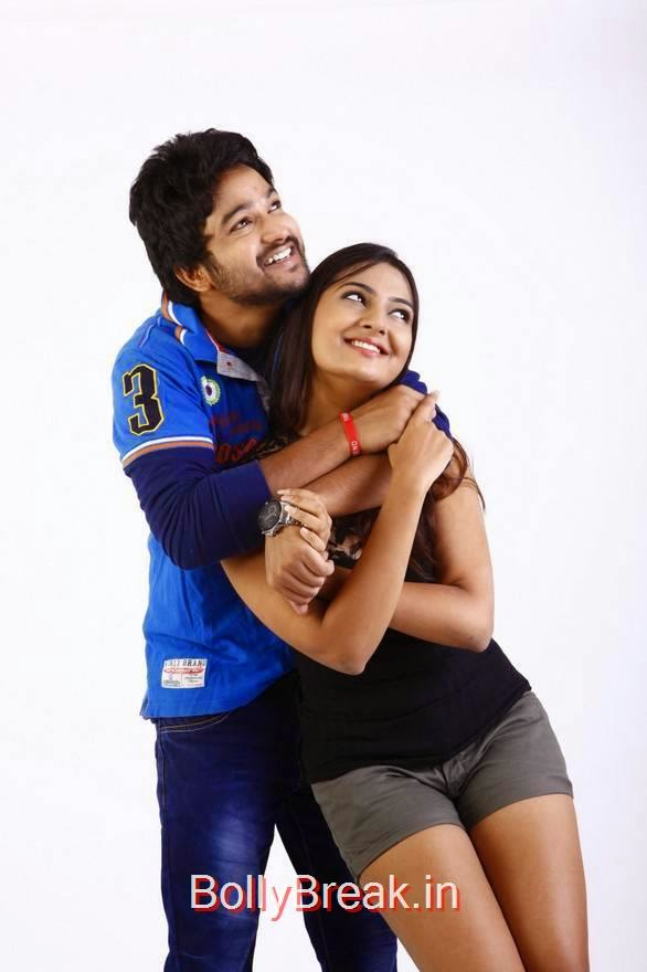 Rahul-The Bells Working Stills, Neha Deshpande hot Pics in Shorts, Black Top from The Bells Movie