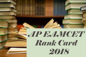 EAMCET  Rank card 2018, AP EAMCET Rank card download 2018