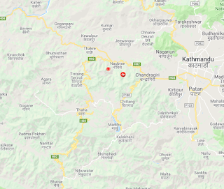 dhading_earthquake_epicenter_map