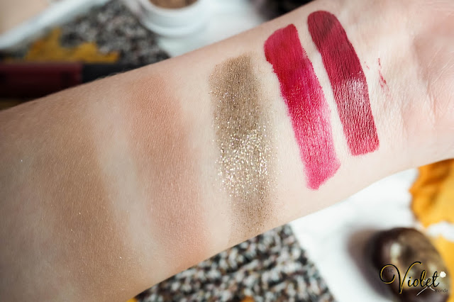 October beauty favourites swatches