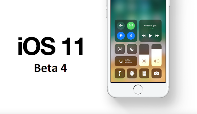 iOS 11 Beta 4 released