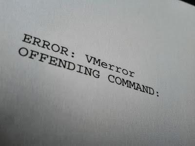 printer error by the waving cat