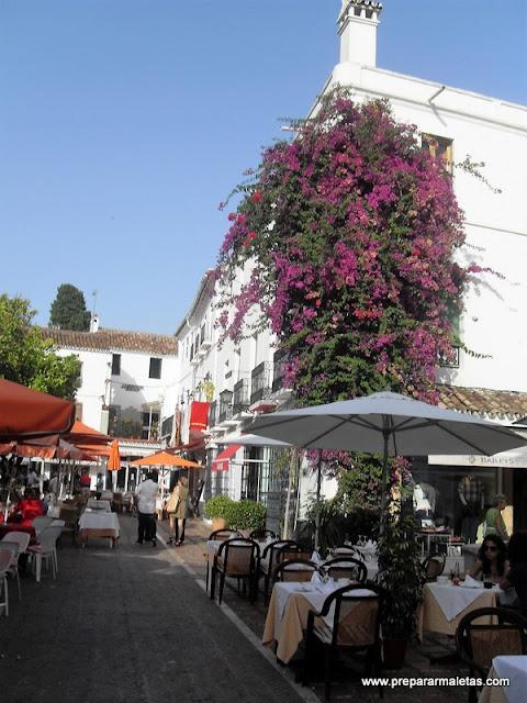 terrazas plaza de los naranjos marbella