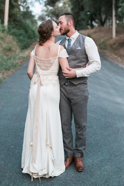 Handmade Wedding Dress on Palindrome Dry Goods