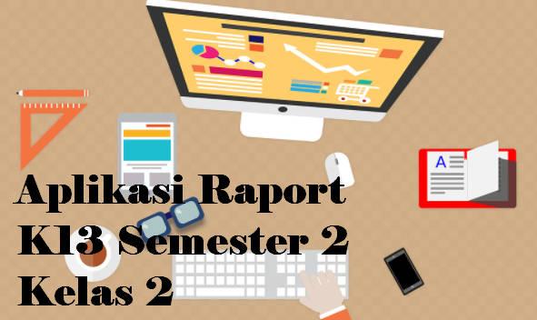Aplikasi Raport K13 Semester 2 Kelas 2