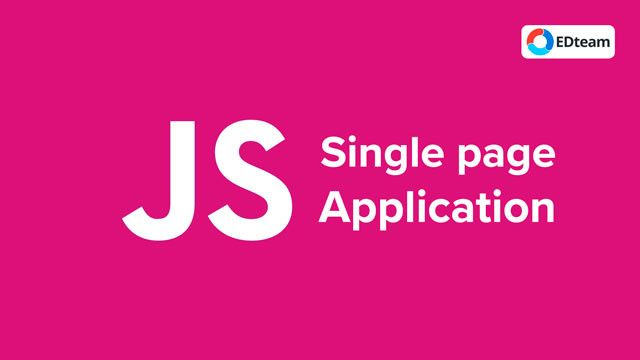 Curso Single Page Application con JavaScript (EDTeam)