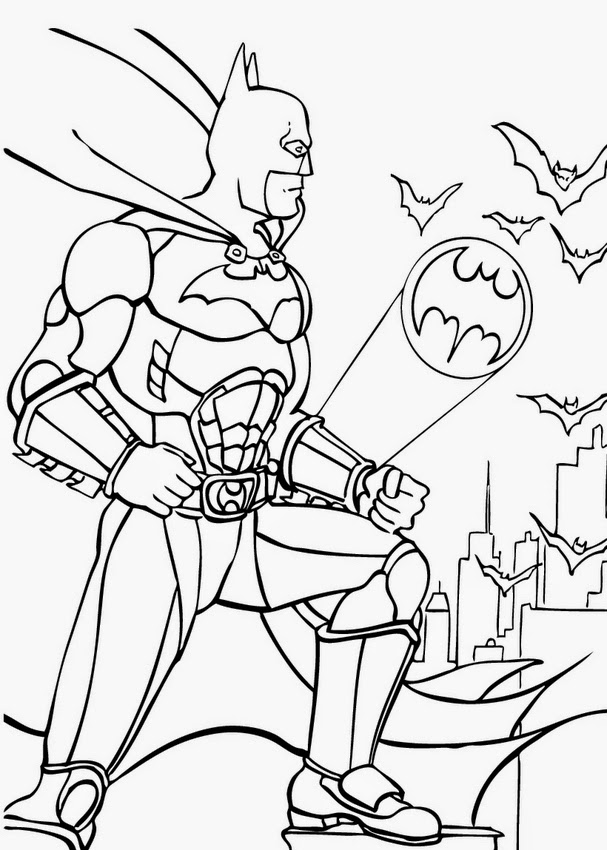 Coloring Pages: Superhero Coloring Pages Free and Printable