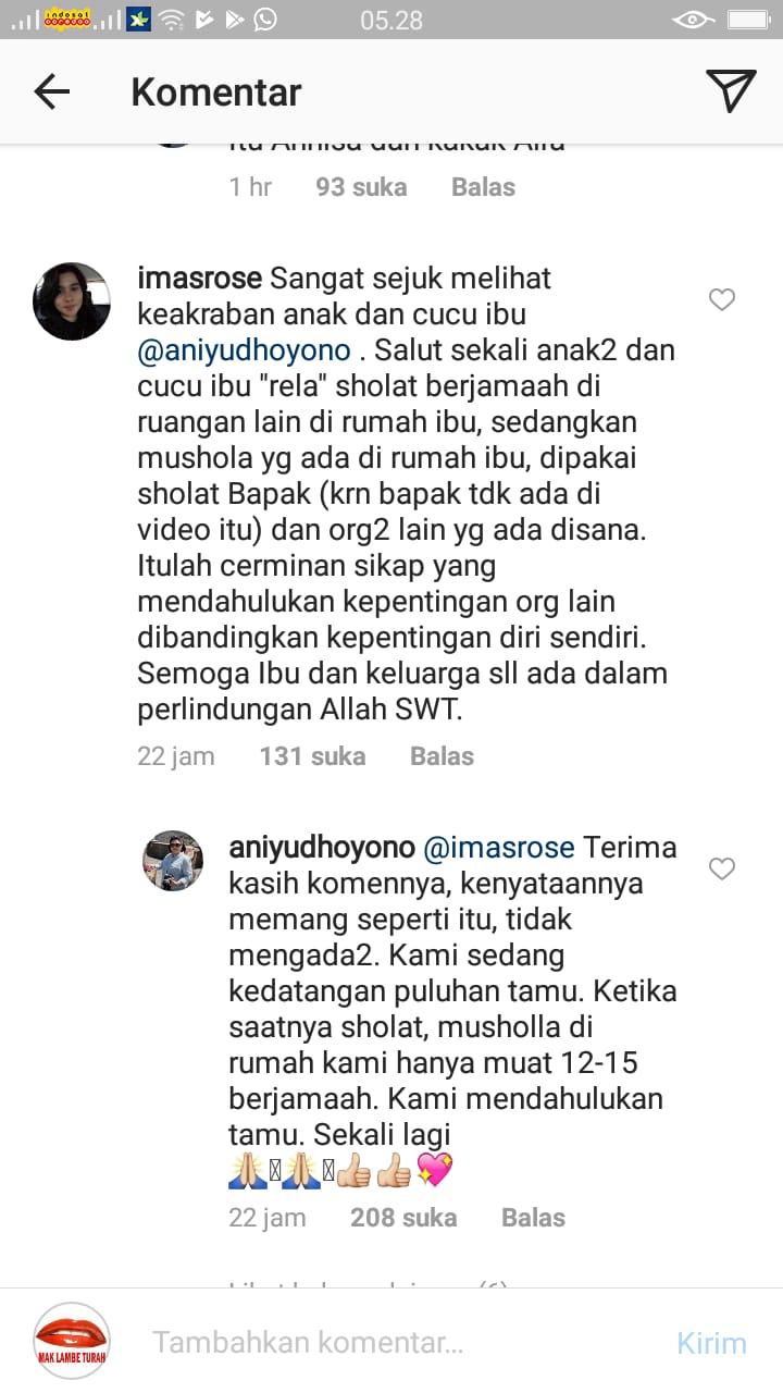 Tingkah Lucu Cucu SBY Belajar Shalat Ani Yudhoyono Dapat
