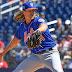 MLB: Noah Syndergaard ponchó a siete bateadores de los Nacionales en fila