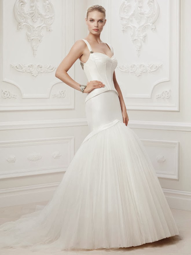 Truly Zac Posen 2014 Wedding Dresses at David\'s Bridal - Belle The ...
